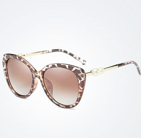 Isabella Pearl Detail Designer Polarized Sunglasses for Women w  100% UVA UVB  Protection 832dafc6a37d