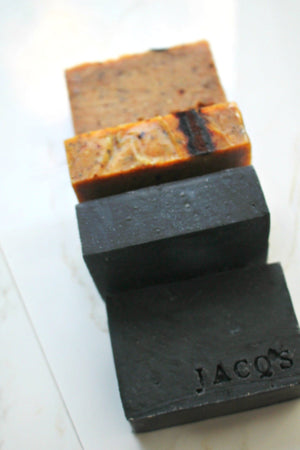 Jacq's Plantain & Activated Charcoal Face Cleansing Bar