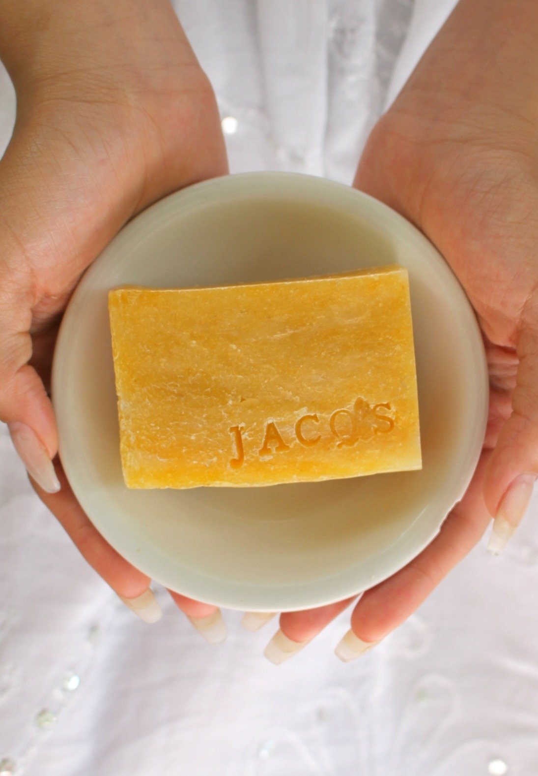 Jacq's Wild Hibiscus & Carrot Cleansing Bar