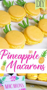 😋 Quarantine boredom? Try these Delicious Pineapple Macarons! 😋