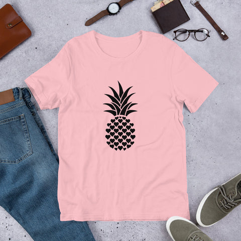 Heart of Pineapple Women Tee Tshirt