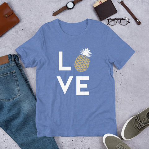 Pineapple Love Men Tee Tshirt