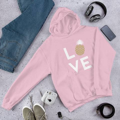 Pineapple Love Women Hoodie
