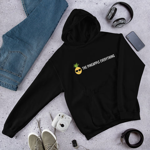 The Pineapple Everything Text Logo Women Hoodie