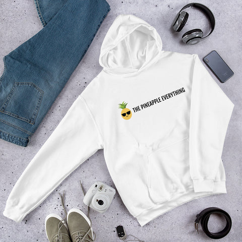 The Pineapple Everything Text Logo Men Hoodie