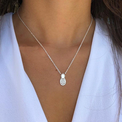 Dainty Pineapple Pendant Necklace - The Pineapple Everything