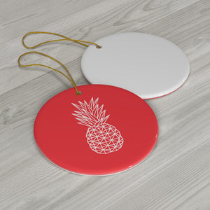 Geometric Pineapple Ornament - The Pineapple Everything