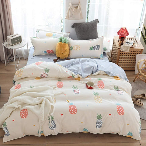 Pineapple Love Bed Set - The Pineapple Everything