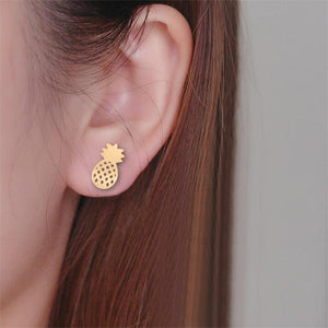 Miss Classic Pineapple Earrings - The Pineapple Everything