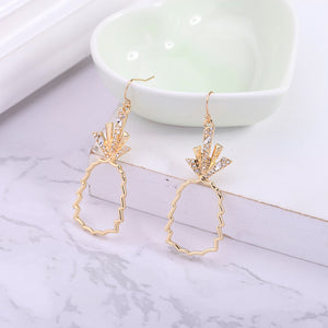 Bohemian Pineapple Hoop Earrings - THE PINEAPPLE EVERYTHING