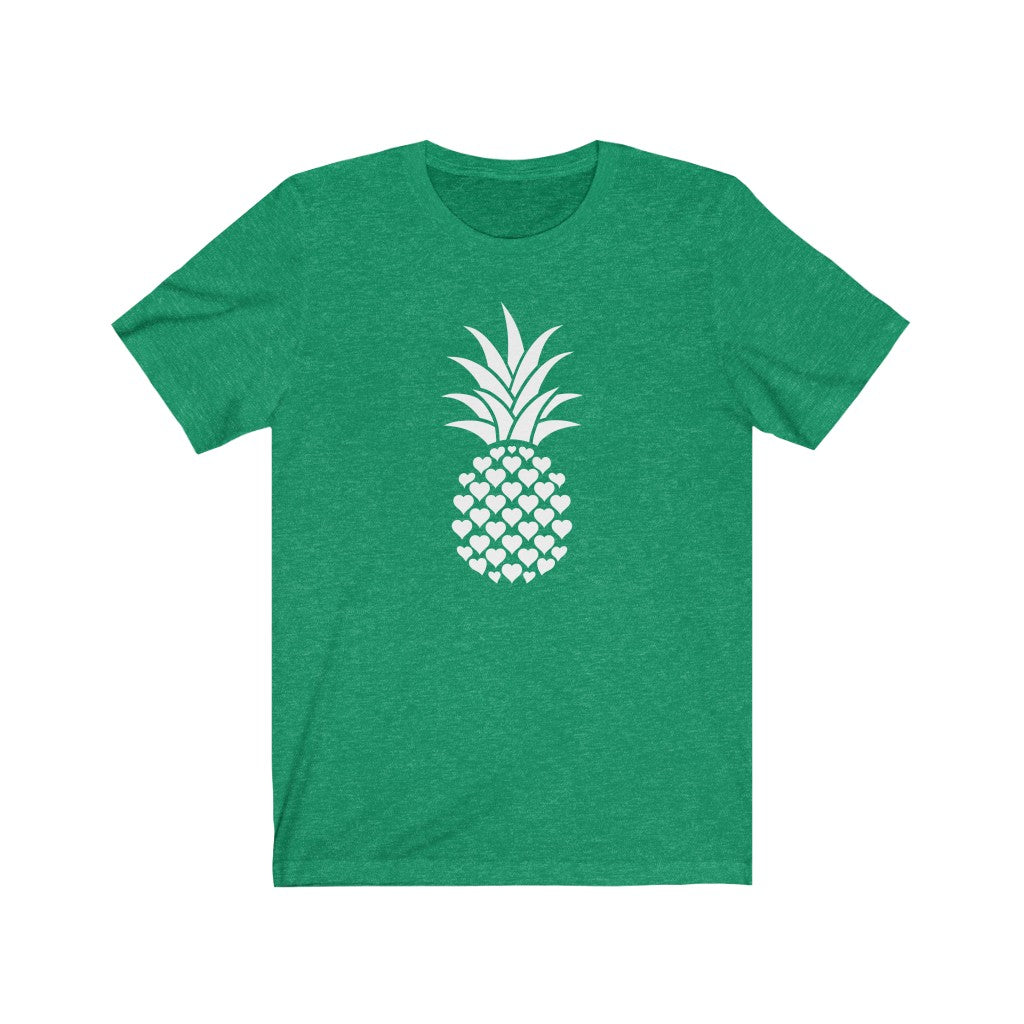Heart of Pineapple Women's Tee - Happy Pineapple Co.