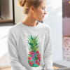 Pineapple Floral Women's Long Sleeve - Happy Pineapple Co.