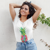 Pineapple Floral Women's Tee - Happy Pineapple Co.