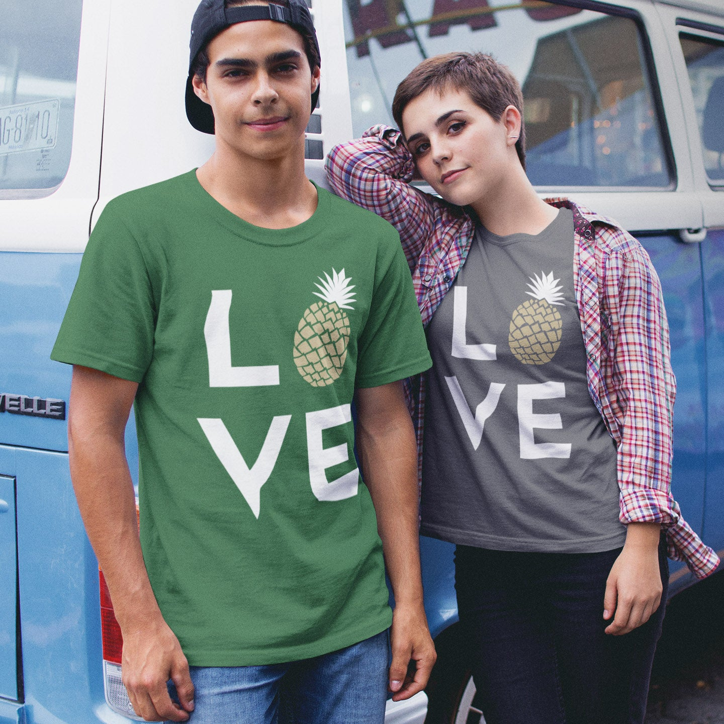 Pineapple Love Men's Tee - THE PINEAPPLE EVERYTHING