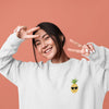 Happy Pineapple Women's Crewneck Sweater - Happy Pineapple Co.