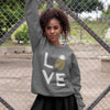 Pineapple Love Women's Crewneck Sweater - Happy Pineapple Co.