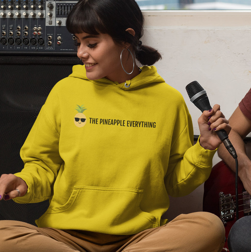 The Pineapple Everything™ Women's Hoodie (Text Logo) - The Pineapple Everything