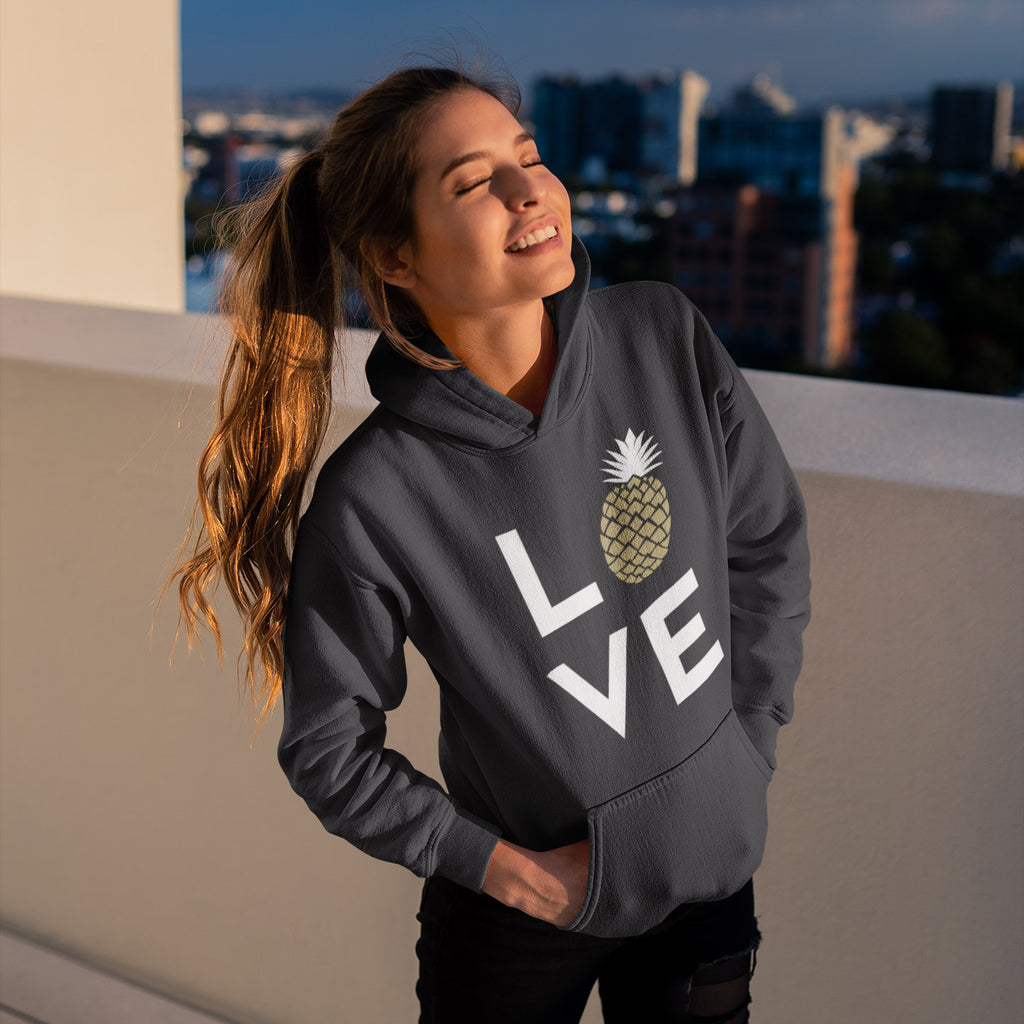 Pineapple Love Women's Hoodie - THE PINEAPPLE EVERYTHING