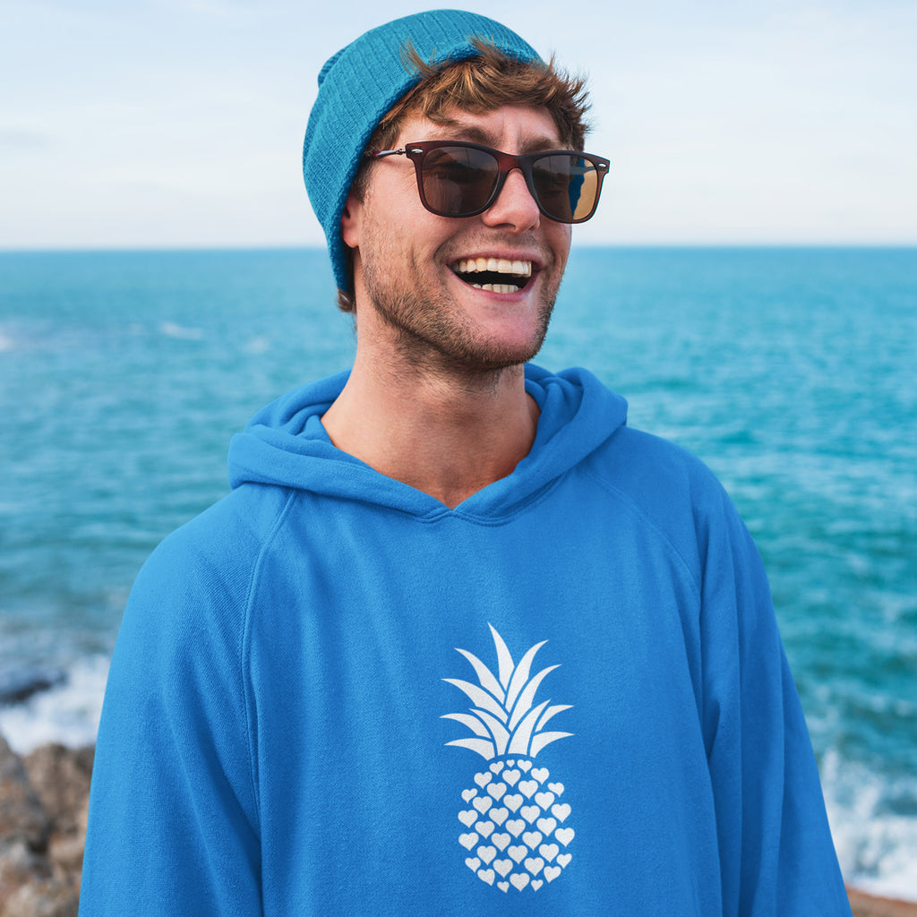 Heart of Pineapple Men's Hoodie - THE PINEAPPLE EVERYTHING