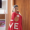 Pineapple Love Plush Blanket (Holiday Red) - The Pineapple Everything