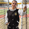 Happy Pineapple Women's Varsity Jacket - Happy Pineapple Co.