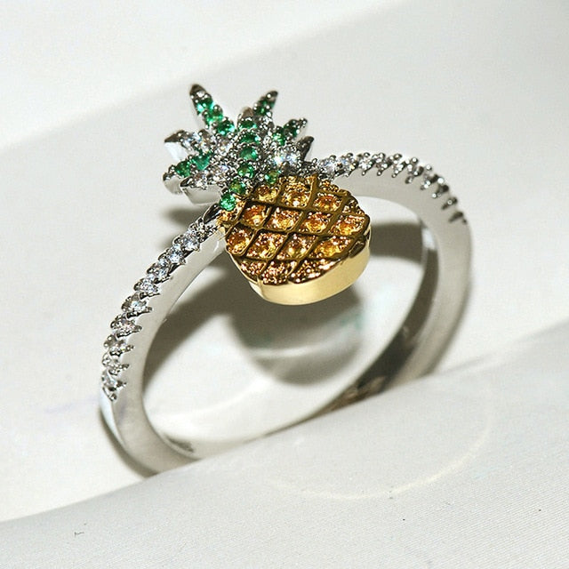 Royal Pineapple Statement Ring - THE PINEAPPLE EVERYTHING
