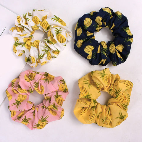 The Pineapple Everything Scrunchies - The Pineapple Everything