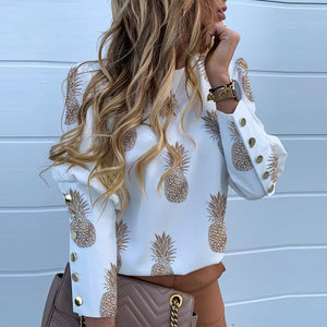 Southern Charm Pineapple Royal Tunic - The Pineapple Everything
