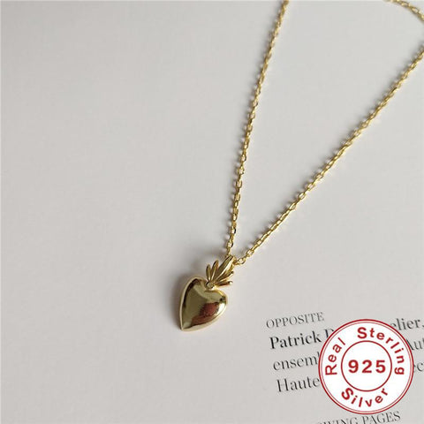Pineapple Love Charm Necklace