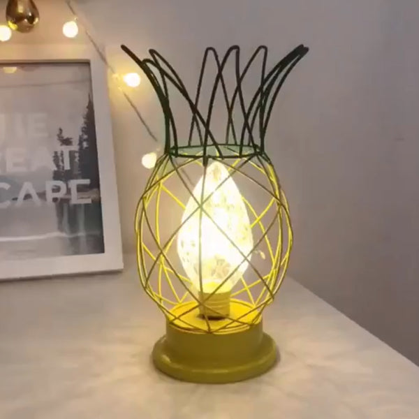 LED Pineapple Crystal Lamp - The Pineapple Everything