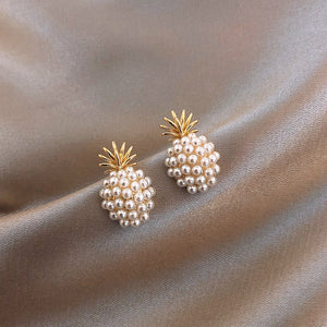 Pineapple Sweetness Pearl Earrings - The Pineapple Everything