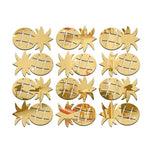 Pineapple Mirror Wall Sticker (12pc) - THE PINEAPPLE EVERYTHING