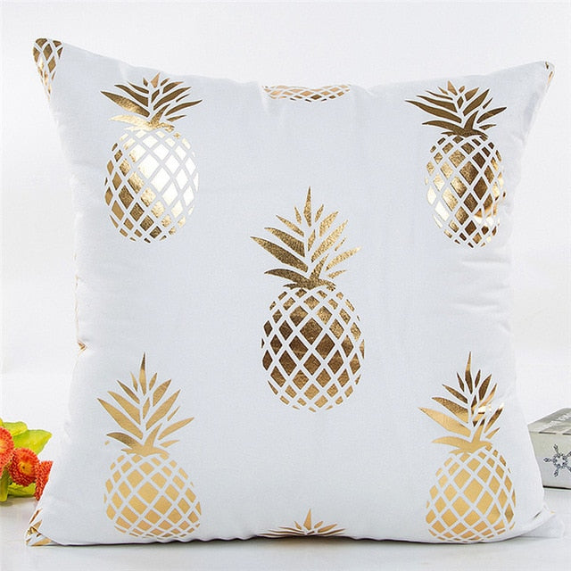 Golden Pineapple Pillowcase - Happy Pineapple Co.
