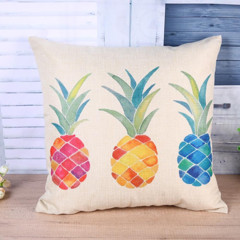 Tricolor Pineapple Pillowcase - The Pineapple Everything