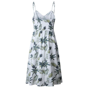 Pineapple Vintage Maxi Dress - THE PINEAPPLE EVERYTHING