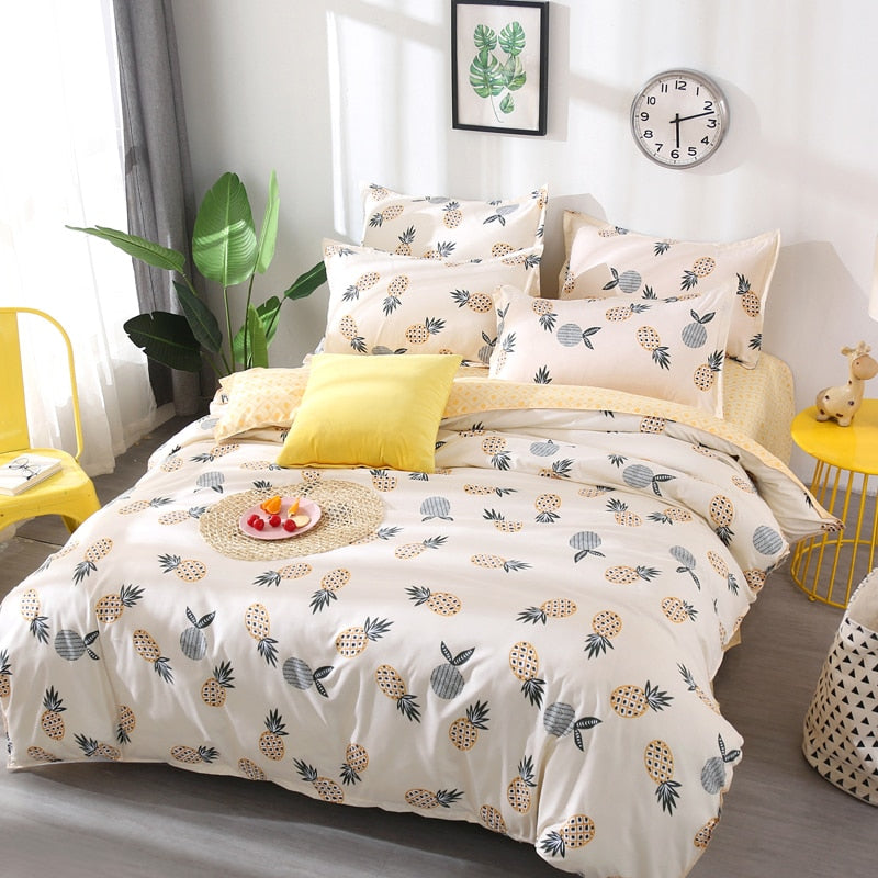 Classic Pineapple Bed Set - Happy Pineapple Co.