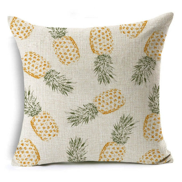 Rustic Pineapple Pillowcase - Happy Pineapple Co.