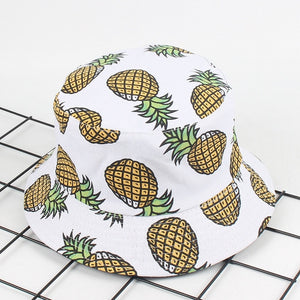 All-Over Pineapple Bucket Hat - THE PINEAPPLE EVERYTHING