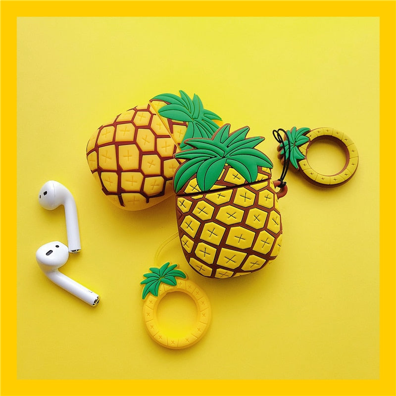 3D Pineapple AirPods Case - Happy Pineapple Co.