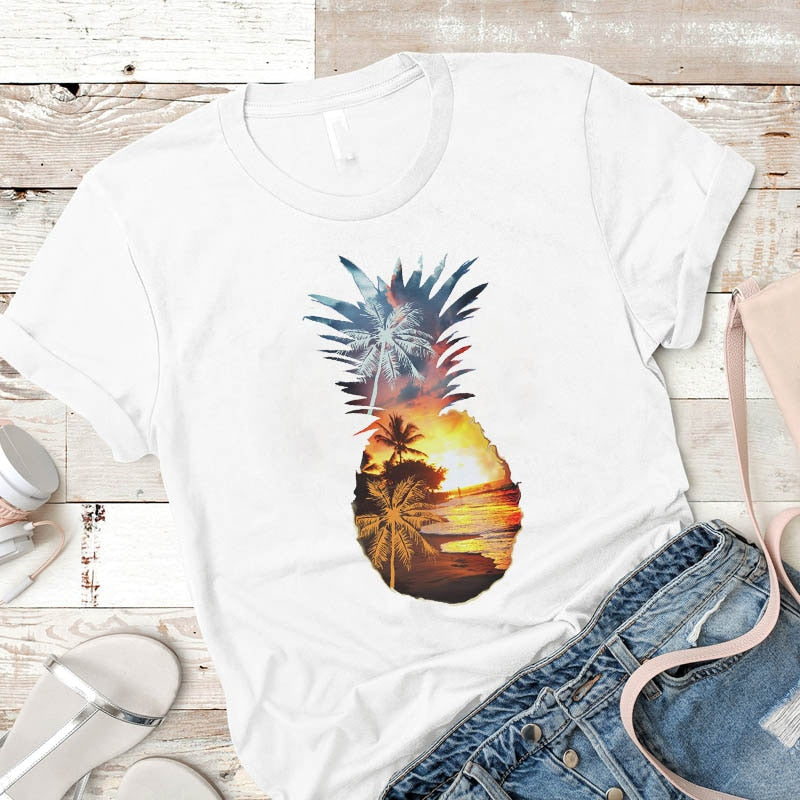 Pineapple Paradise Women's Tee - The Pineapple Everything