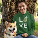Pineapple Love Women's Hoodie - Happy Pineapple Co.