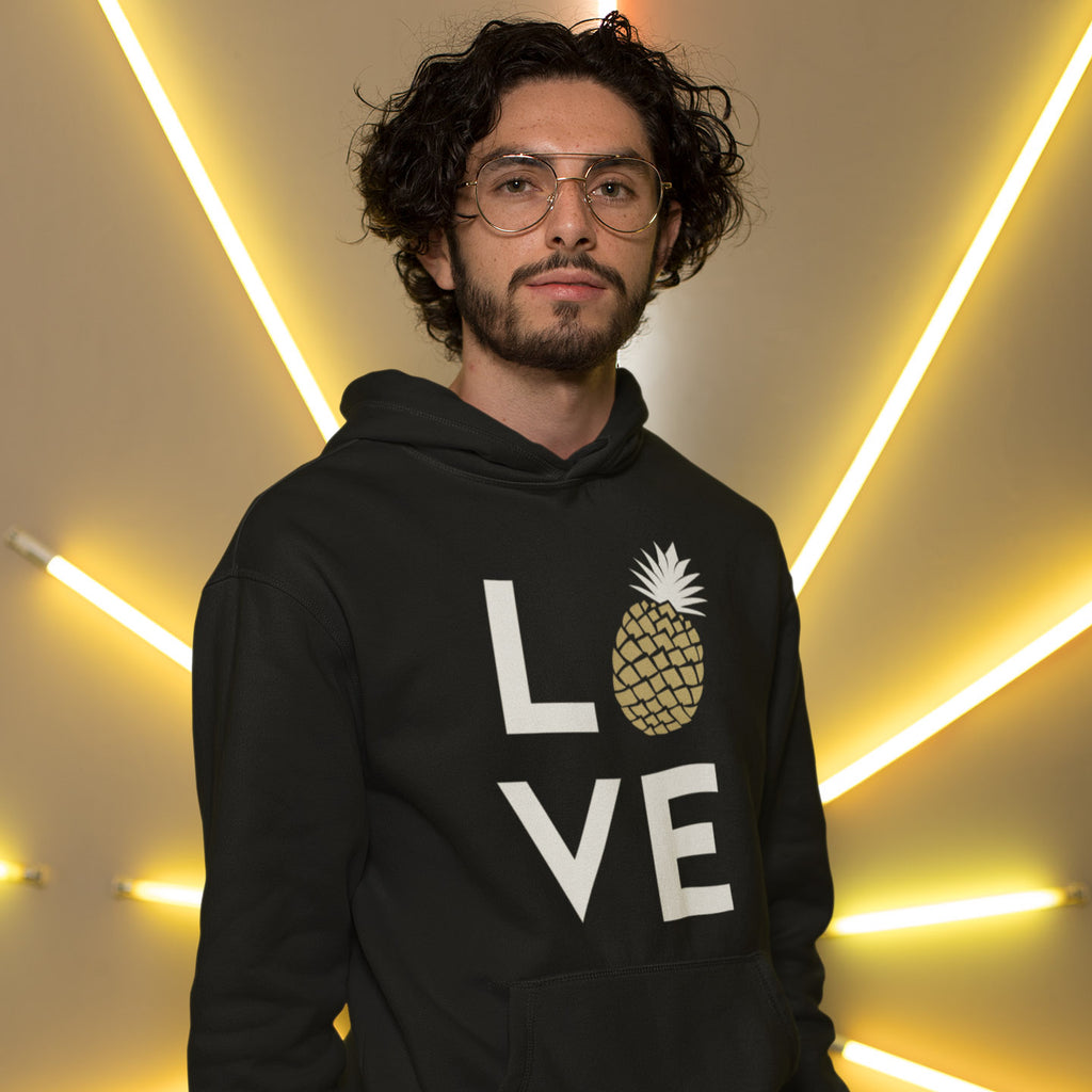 Pineapple Love Men's Hoodie - The Pineapple Everything