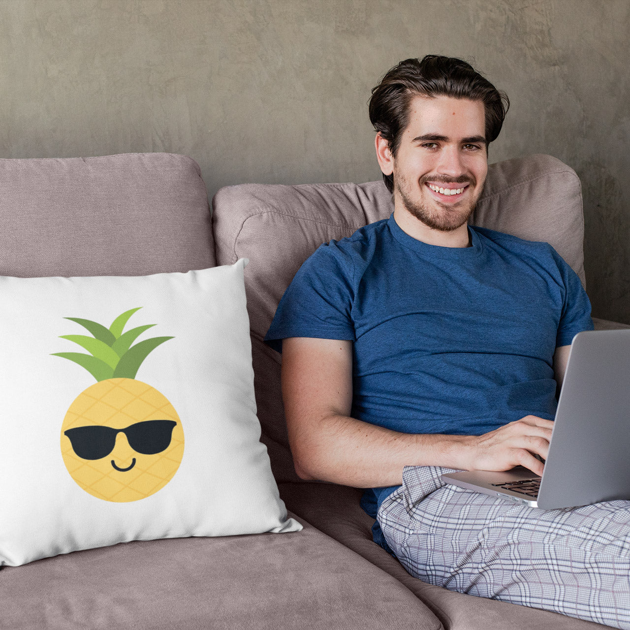 The Pineapple Everything™ Pillow (White) - The Pineapple Everything