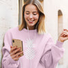 Heart of Pineapple Women's Crewneck Sweater - Happy Pineapple Co.