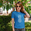Geometric Pineapple Women's Tee - THE PINEAPPLE EVERYTHING