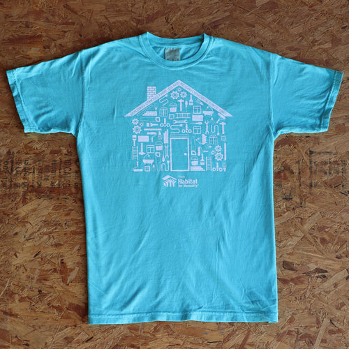 Habitat House Tee (Comfort Colors)