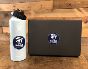 Trinity Habitat Sticker - Navy Blue Circle