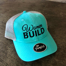 Women Build Ponytail Cap - Mint Tea
