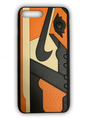 "Air Jordan 1 ""Shattered Backboard"" 3D Sneaker Textured iPhone Case"