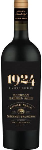 1924 Double Black Cabernet Sauvignon Bourbon Barrel Aged 750ML